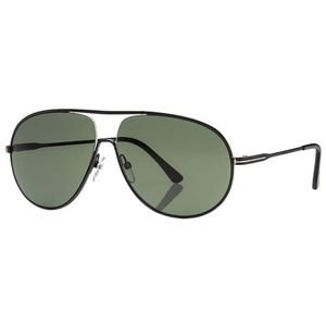 Tom Ford Sunglasses Black w/Green Lens